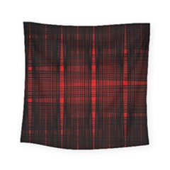 Black And Red Backgrounds Square Tapestry (small)