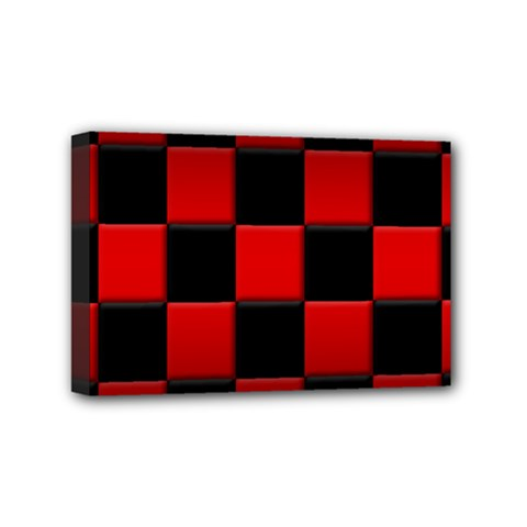 Black And Red Backgrounds Mini Canvas 6  X 4