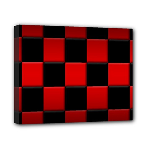 Black And Red Backgrounds Canvas 10  X 8