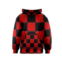 Black And Red Backgrounds Kids  Pullover Hoodie
