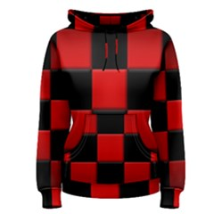 Black And Red Backgrounds Women s Pullover Hoodie