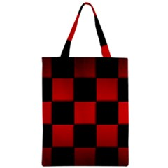 Black And Red Backgrounds Zipper Classic Tote Bag