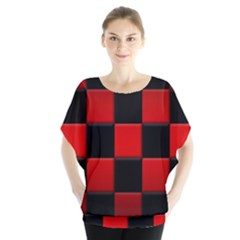 Black And Red Backgrounds Blouse