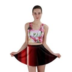 Black And Red Mini Skirt