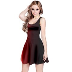 Black And Red Reversible Sleeveless Dress