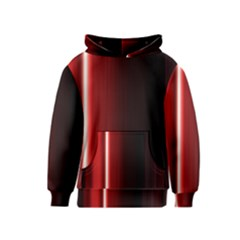 Black And Red Kids  Pullover Hoodie