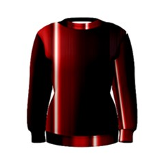 Black And Red Women s Sweatshirt