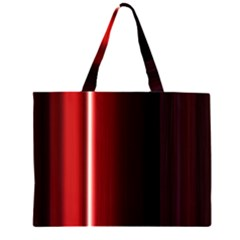 Black And Red Large Tote Bag