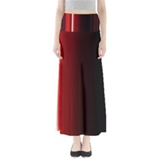 Black And Red Maxi Skirts