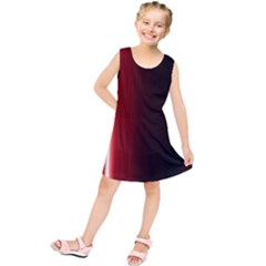 Black And Red Kids  Tunic Dress