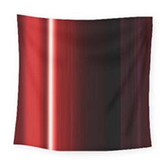 Black And Red Square Tapestry (large)