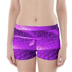 Circular Color Boyleg Bikini Wrap Bottoms