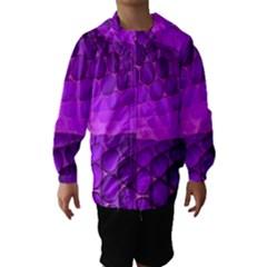 Circular Color Hooded Wind Breaker (kids)