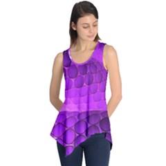 Circular Color Sleeveless Tunic