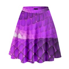 Circular Color High Waist Skirt
