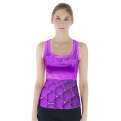Circular Color Racer Back Sports Top
