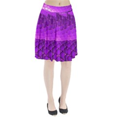 Circular Color Pleated Skirt