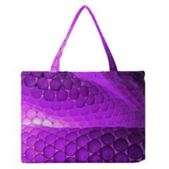Circular Color Medium Zipper Tote Bag