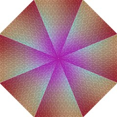 Blue And Pink Colors On A Pattern Folding Umbrellas