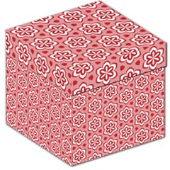 Floral Abstract Pattern Storage Stool 12