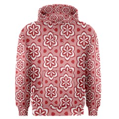 Floral Abstract Pattern Men s Pullover Hoodie