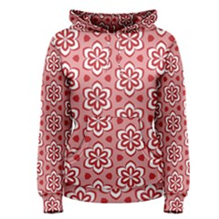 Floral Abstract Pattern Women s Pullover Hoodie