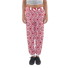 Floral Abstract Pattern Women s Jogger Sweatpants