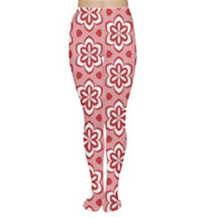 Floral Abstract Pattern Women s Tights