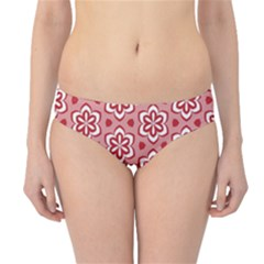 Floral Abstract Pattern Hipster Bikini Bottoms