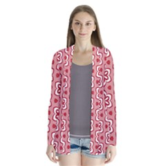 Floral Abstract Pattern Cardigans