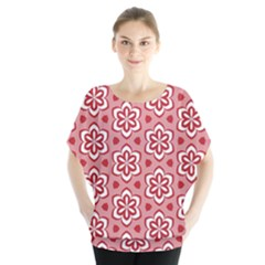 Floral Abstract Pattern Blouse