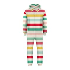Papel De Envolver Hooray Circus Stripe Red Pink Dot Hooded Jumpsuit (kids)