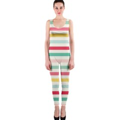 Papel De Envolver Hooray Circus Stripe Red Pink Dot Onepiece Catsuit