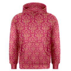Damask Background Gold Men s Pullover Hoodie