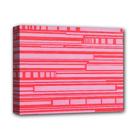 Index Red Pink Deluxe Canvas 14  X 11