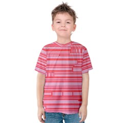 Index Red Pink Kids  Cotton Tee