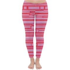Index Red Pink Classic Winter Leggings