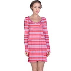 Index Red Pink Long Sleeve Nightdress