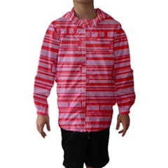 Index Red Pink Hooded Wind Breaker (kids)