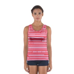 Index Red Pink Women s Sport Tank Top