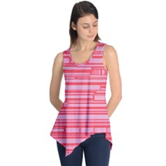 Index Red Pink Sleeveless Tunic