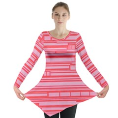 Index Red Pink Long Sleeve Tunic