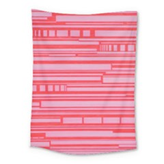 Index Red Pink Medium Tapestry