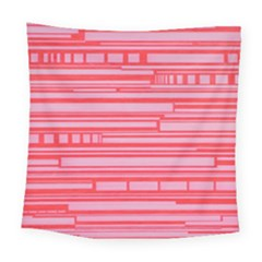 Index Red Pink Square Tapestry (large)