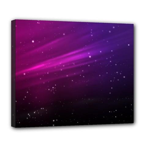 Purple Wallpaper Deluxe Canvas 24  X 20
