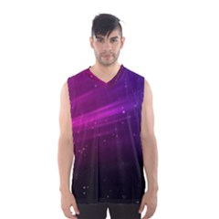 Purple Wallpaper Men s Basketball Tank Top