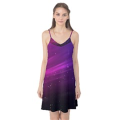 Purple Wallpaper Camis Nightgown
