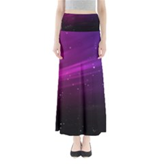 Purple Wallpaper Maxi Skirts