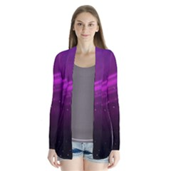 Purple Wallpaper Cardigans