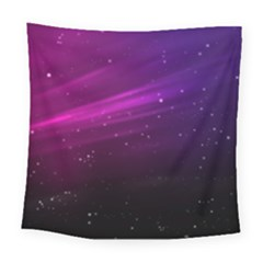 Purple Wallpaper Square Tapestry (large)